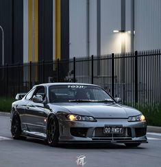 Nissan S15, Nissan 240sx, Nissan Gtr Wallpapers, Silvia S15, Jdm Wallpaper, Street Racing Cars, Custom Muscle Cars, Pretty Cars, Nissan Silvia