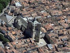 ✈️ Photo aérienne de : Villefranche-de-Rouergue - Aveyron (12)