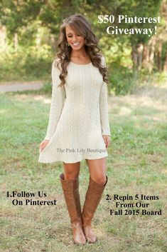 $50 Gift Card Giveaway! 1. Follow Us On Pinterest 2. Repin 5 Items From Our Fall 2015 Board.  Winner Will Be Picked 9/15