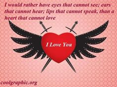 Wings Heart Quote Picture
