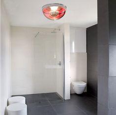 bathroom with VerPer ceiling light