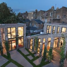 Robert+and+Jessica+Barker+build+trio+of+London+houses+including+live-work+space+for+themselves