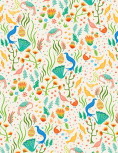 Patterns #3 by Vikki Chu, via Behance