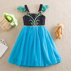 Frozen Inspired Anna Tutu Dress