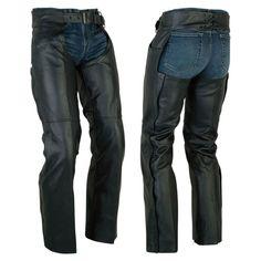 Motorcycle Chaps, Motorbike Leathers, Cowhide Leather, Leather Men, Leather Pants, Sport Wear, Fashion Wear, Leather Fashion, Zipper