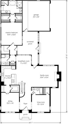 Droswell House - Looney Ricks Kiss Architects, Inc. | Southern Living House Plans