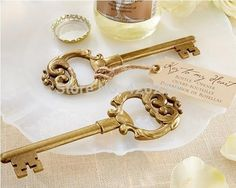 Key to My Heart Antique Gold Bottle Opener Wedding Favors Baby Shower Birthday Gift Giveaway Souvenir Centerpieces Accessoires from Sweetweddingfavors,$1.54 | DHgate.com