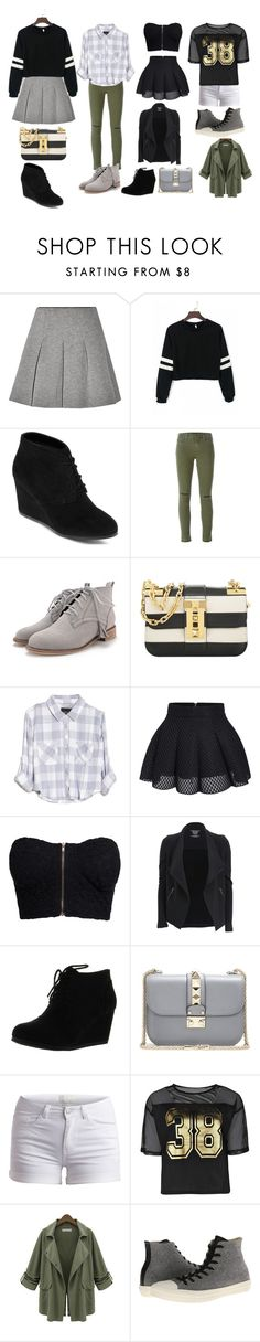 """""""Untitled #99"""" by poinapples on Polyvore featuring T By Alexander Wang, Arizona, J Brand, Valentino, Rails, NLY Trend, Majestic Filatures, Pieces, Boohoo and Chicnova Fashion"""