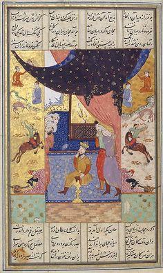 Nizami (Ilyas Abu Muhammad Nizam al-Din of Ganja) | Khamsa (Quintet) of Nizami | Islamic | The Metropolitan Museum of Art