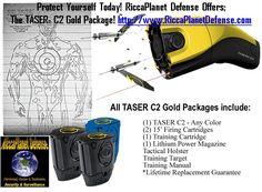 Protect Yourself Today! RiccaPlanet Defense Offers; The TASER® C2 Gold Package! http://www.RiccaPlanetDefense.com  #Mace #Security #Safety #StunGun #Stun #Gun#PepperSpray #Tasers #Dash #DashCam #DashCamera #NannyCam #SpyCamera #SecurityCamera #HiddenCamera #DiversionSafe #HiddenSafe #Protection #ChildSafety #HomeSafety #BusinessSafety #Surveillance #Girl #Teen#SelfDefense #Sport #SportCam#SportCamera #Lipstick…