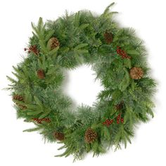 You'll love the Cinnabar Cleveland 61cm Pinecone and Red Berry Wreath at Wayfair.co.uk - Great Deals on all Home Furnishings  products with Free Shipping on most stuff, even the big stuff.