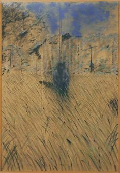Francis Bacon  Study of a Figure in a Landscape 1952 Oil on canvas 198.12 x 137.16 cm The Phillips Collection, Washington