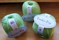 Universal Yarns fabulous Bamboo Pop! It's 292 yards soft bliss. It's 50% cotton and 50% bamboo with a gracies drape of rich color. Great price too!
