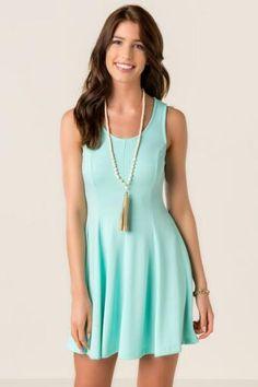 Rena Solid Knit Dress