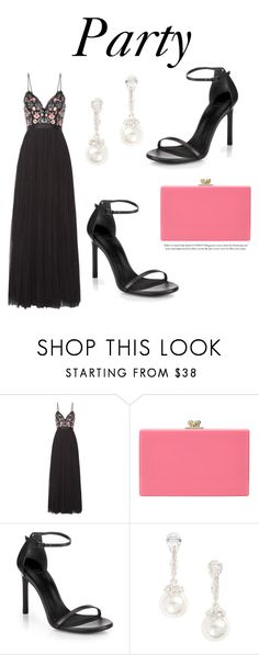 """""""520"""" by meldiana ❤ liked on Polyvore featuring Needle & Thread, John Lewis, Stuart Weitzman and Givenchy"""