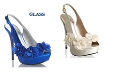 Blue wedding heels matrimonio-en-colombia