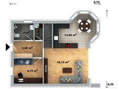 půdorys domu Pavla 10A Architectural House Plans, Pavlova, Tuna, How To Plan, Home Plans, Bonito, Home, Modern, Atlantic Bluefin Tuna