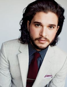 Kit Harington Sports Contemporary Styles for British GQ January 2015 . Kit Harington Game of Thrones Kit Harrington, Jon Snow, Cary Grant, Rodrigo Santoro, Michael Fassbender, Actor Keanu Reeves, Gorgeous Men, Beautiful People, Perfect People