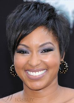Hot Sale Afro American Hairstyle Short Straight 100% Human Hair