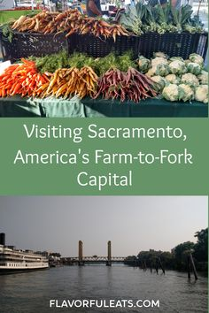 Visiting Sacramento, America's Farm-to-Fork Capital - Flavorful Eats Free Travel, Travel Usa, Travel Tips, Travel Ideas, Sacramento Restaurants, Great Buildings And Structures, Modern Buildings, California Travel, Sacramento California