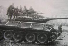T-34-85 in Berlin