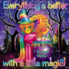 Halloween Magic, Barbie, Rainbow Brite, Lisa Frank, Samhain, Colorful Pictures, Wonderful Images, Cute Drawings, Magick