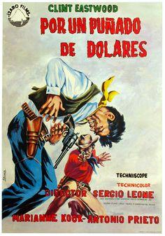 """Por un puñado de dólares (1964) """"Per un pugno di dollari"""" de Sergio Leone - tt0058461"""