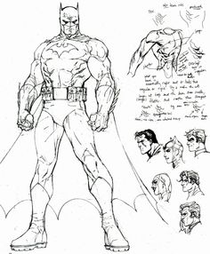 Jim Lee's artwork sketches