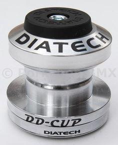 "Dia-Compe Diatech DD-Cup BMX headset 1 1/8"""" threadless CHROME 1"