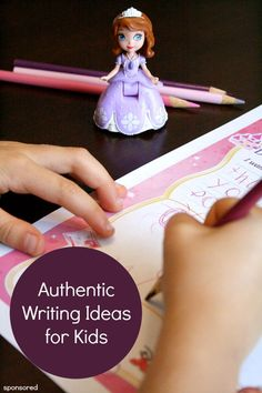 Authentic Writing Activities for Kids…these are great for motivating reluctant writers in the classroom and at home!
