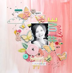 Learn what you want, when you want it! 12x12 Scrapbook, Scrapbook Journal, Scrapbook Sketches, Scrapbook Paper Crafts, Scrapbooking Layouts, Smash Book Pages, Lay Outs, Big Picture, Stamping