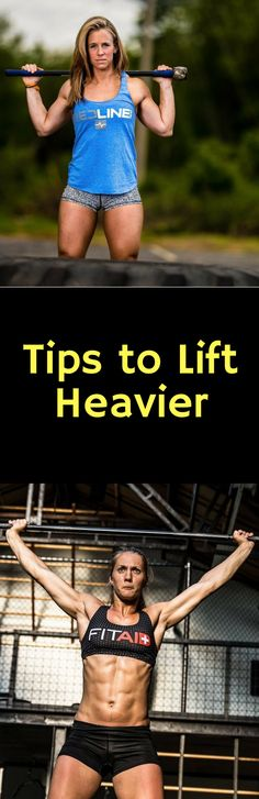 Tips to Lift Heavier #crossfit