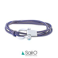 """Mi piace"": 141, commenti: 3 - Sail-O® Official (@sailomemorablepieces) su Instagram: ""Blue & champagne nautical cord.  The Altaïr in stainless steel catches the eyes.  Exclusive design…"""