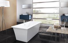 Clearwater Apollo freestanding bath. #baths www.firstbathrooms.co.uk