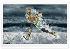 Stephen Curry Splash HD Wide Wallpaper for Widescreen