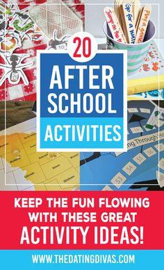 80 After School Activity Ideas