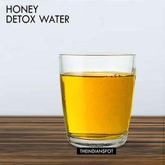 DETOX HONEY WATER - EARLY MORNING DRINK