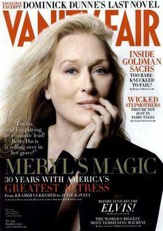 Couverture de Vanity Fair - Meryl Streep
