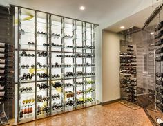 Cable Wine System Custom Wine Cellar By Papro Consulting