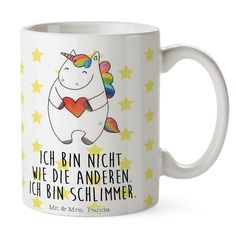Tasse mit Namen Petra Motiv Dickes Einhorn