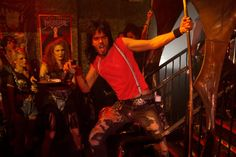 "Russell Brand as ""Lonny"" in New Line Cinema's rock musical 'Rock of Ages,' a Warner Bros. Pictures release. © 2012 Warner Bros. Ent. All Rights Reserved. http://numet.ro/rockofages"