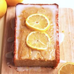 This healthy lemon cake is perfectly sunny and light for spring! CALLING THIS HEALTHY IS A STRETCH BUT IT DOES HAVE PROMISE. IT STILL CONTAINS PROCESSED SUGAR AND WHITE FLOUR.