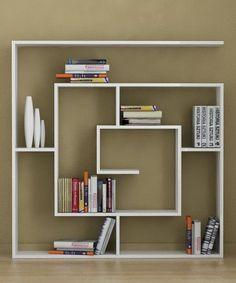 Afbeeldingsresultaat voor unusual bookcase design ideas