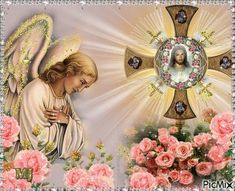 The Word of God is a light to my Path. Jesus Our Savior, God Jesus, Jesus Christ, Religious Pictures, Jesus Pictures, Angel Pictures, Image Jesus, Vintage Holy Cards, Christian Pictures