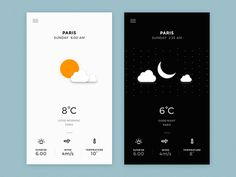 Day & Night Ui