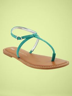 637f5cc04e7f I  lt 3 these! from the gap Turquoise Sandals