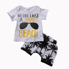 Cheap clothing sets, Buy Quality baby boy directly from China infant boy clothing sets Suppliers: Toddler Newborn Baby Boy Outfit T-shirt Tops Pants Shorts Clothes Set Children Infant Kids Boys Cotton Clothing Set Baby Outfits, Short Outfits, Kids Outfits, Toddler Outfits, Two Piece Clothing Sets, Beach Boy, Beach T Shirts, T Shirt And Shorts, Cute Baby Clothes