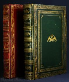Antique Russian books from the Tsarskoe Selo palace