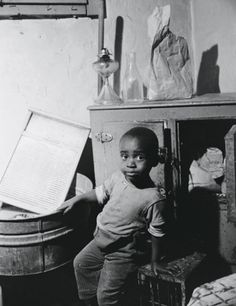 A young boy in Washington, D.C., June 1942 photo by Gordon Parks