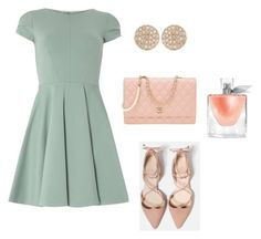 """""""Cute and Simple"""" by meliporto on Polyvore featuring Closet, Dana Rebecca Designs, Chanel and Lancôme"""